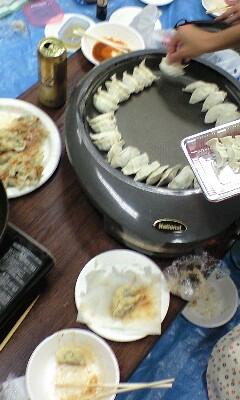 餃子パーティー