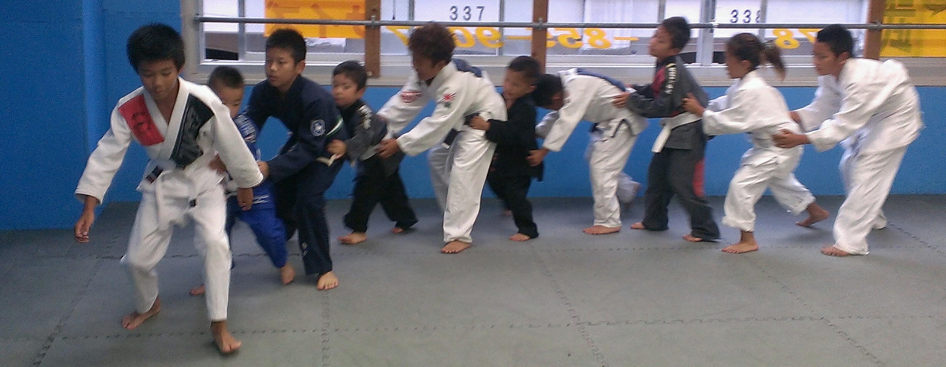8月2日チビ子練習