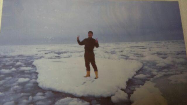 流氷とナマズ
