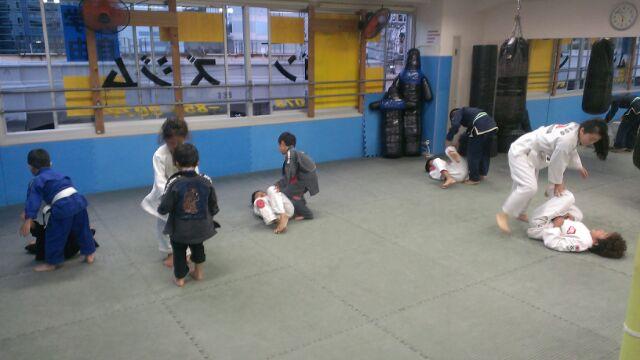 9*20練習チビ柔術