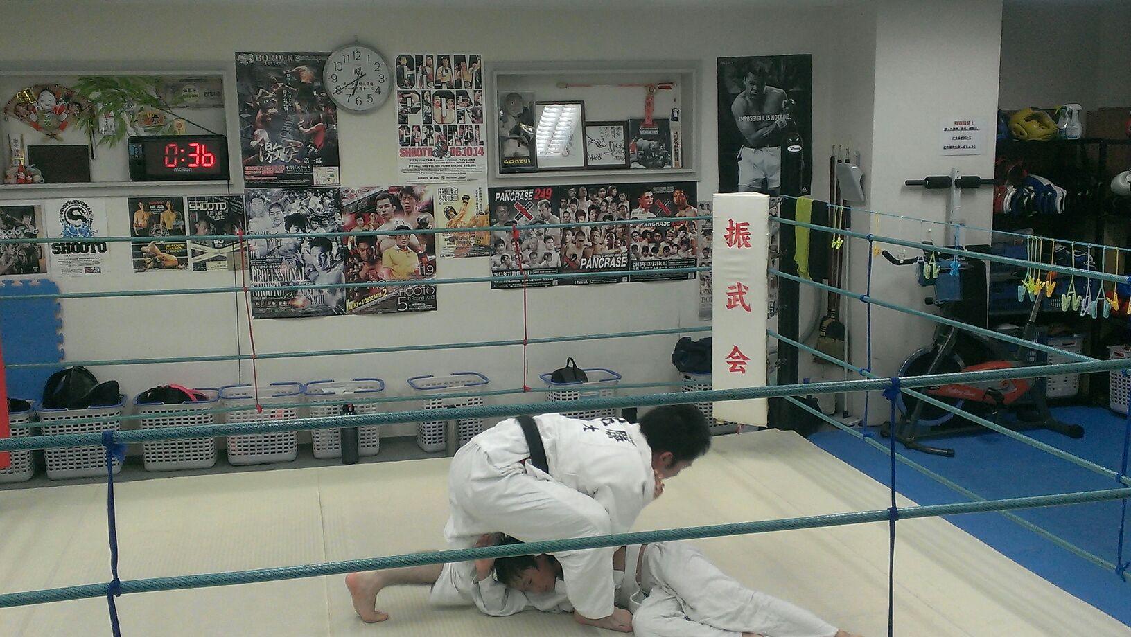 土曜チビっ子柔術