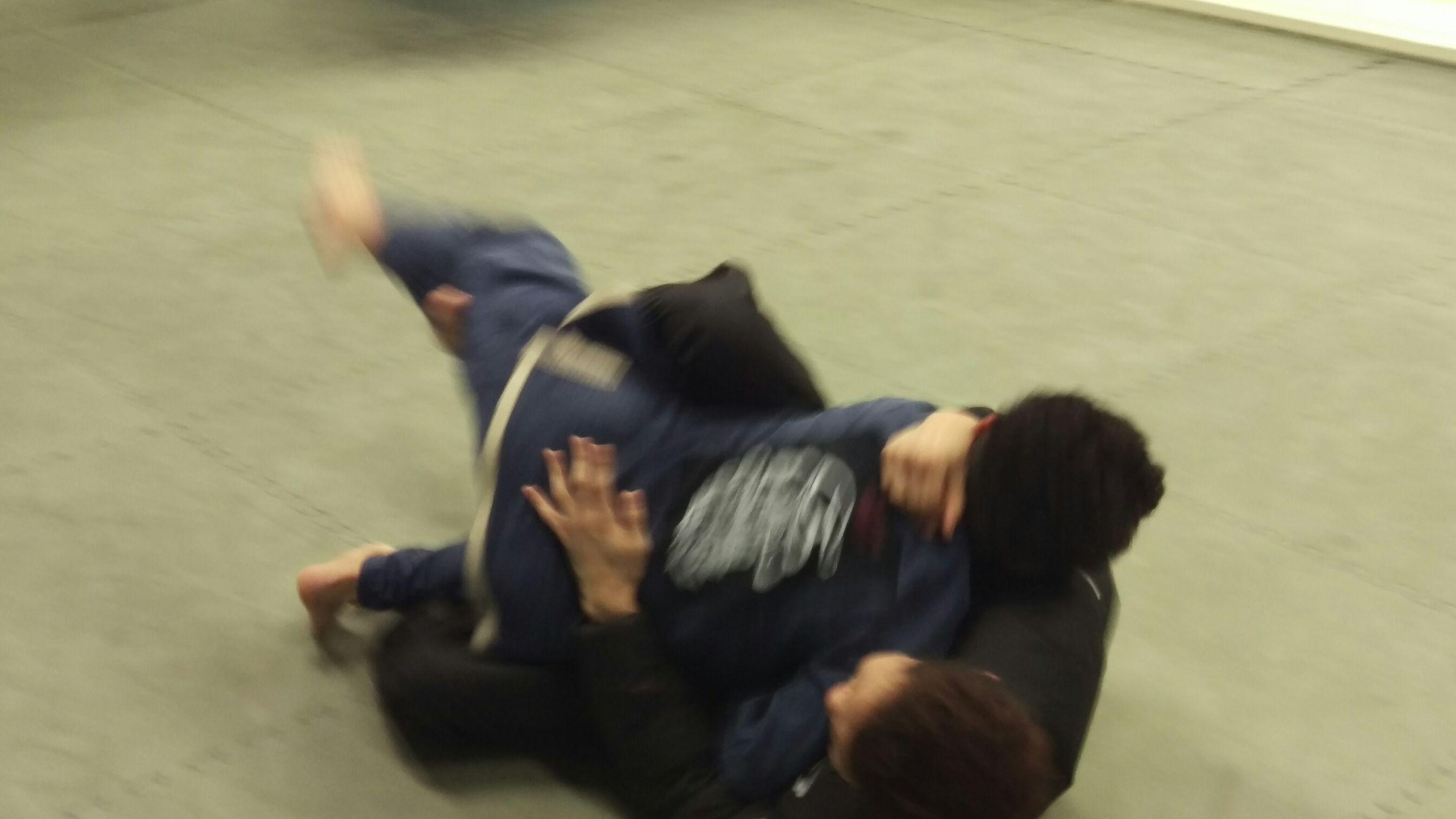 土チビ子柔術